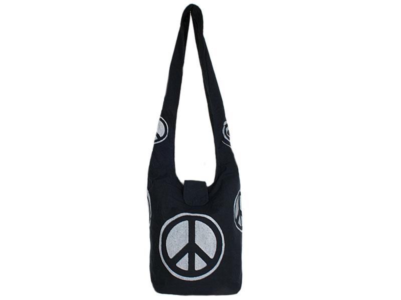 Goa Psytrance Tasche Peace Spirale