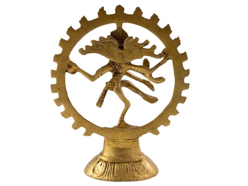 Shiva Nataraja - Messing Statue 12,5cm