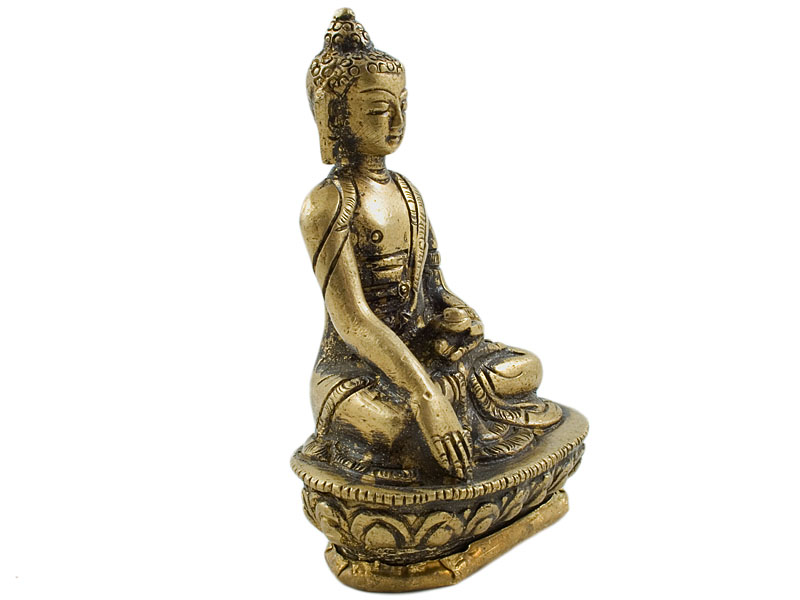 Akshobhya Buddha - Messing Statue 8 cm