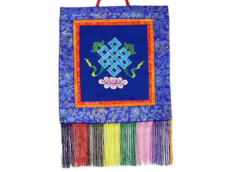 Tibetischer Wandbehang - Unendlicher Knoten