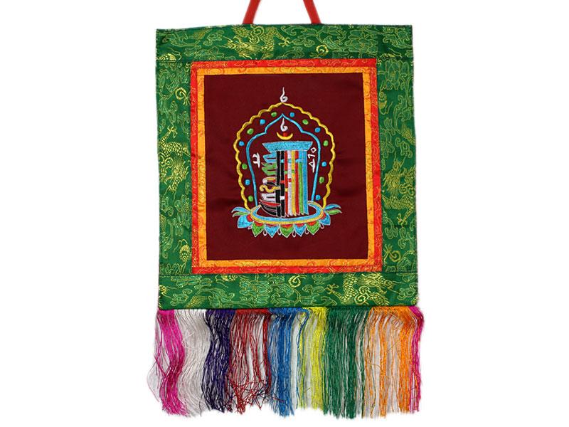 Tibetischer Wandbehang - Kalachakra