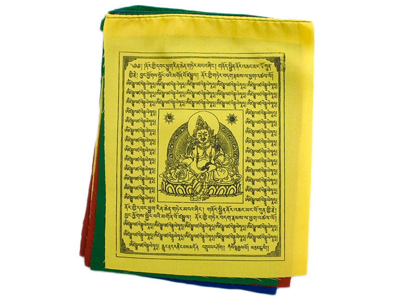 Tibetische Gebetsfahnen - Jambala