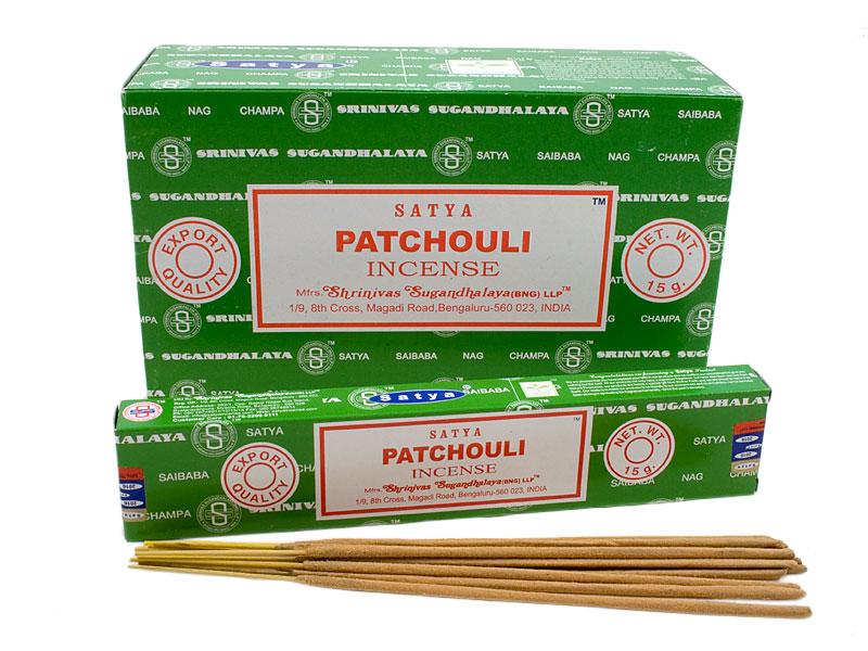 Nag Champa Patchouli Räucherstäbchen