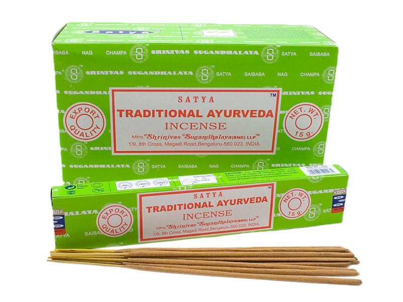Nag Champa Traditional Ayurveda Räucherstäbchen