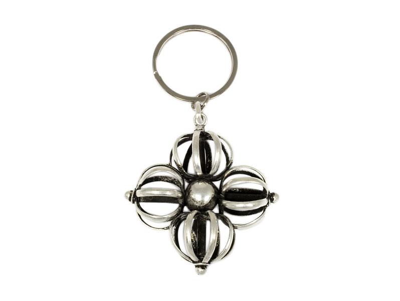 Schlüsselanhänger - Doppel Dorje Vajra