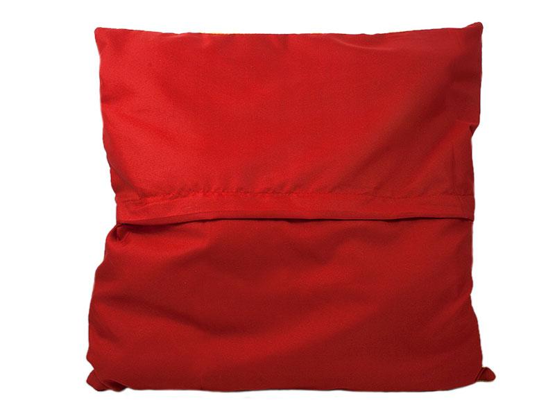 Kissenbezug Unendlicher Knoten rot