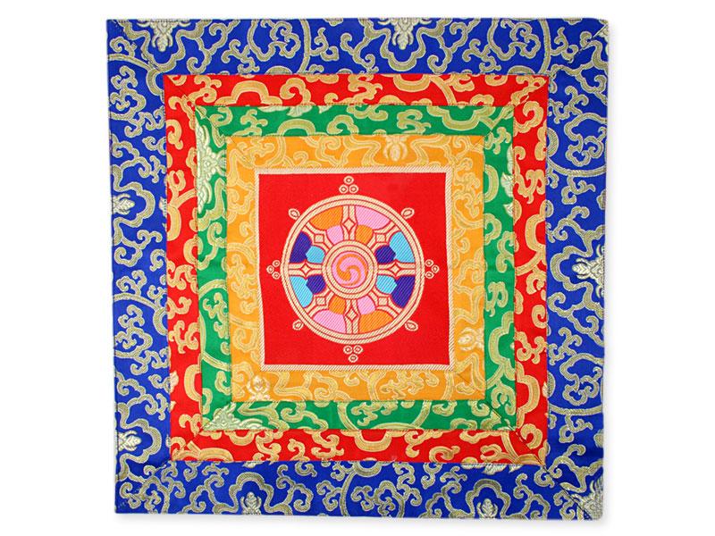 Altardecke aus Brokat Rad des Lebens