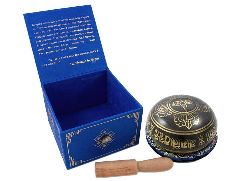 Klangschalen Geschenkset - Medizin Buddha