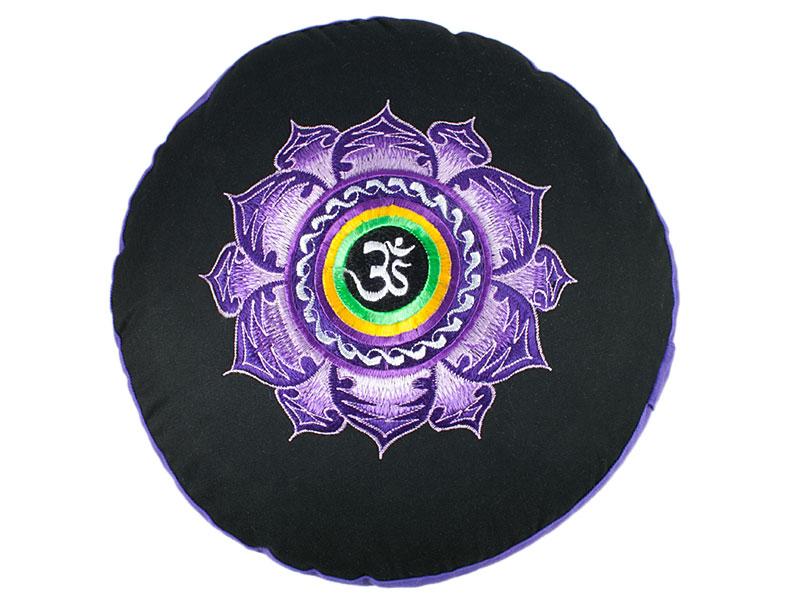 Meditationskissen Lotus Om