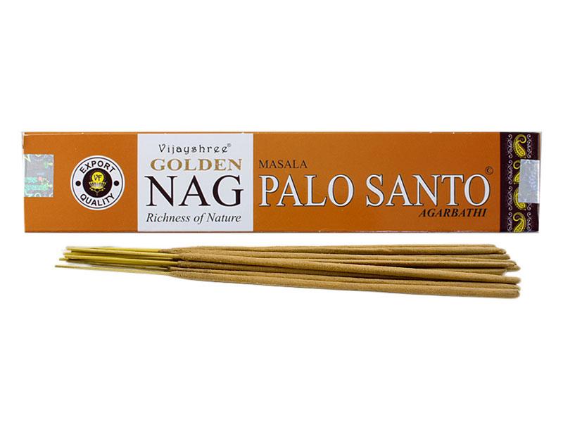 Räucherstäbchen - Golden Nag Palo Santo