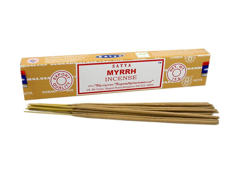 Nag Champa Myrrh Räucherstäbchen