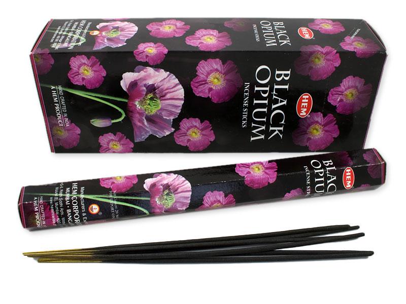 Hem Black Opium Räucherstäbchen