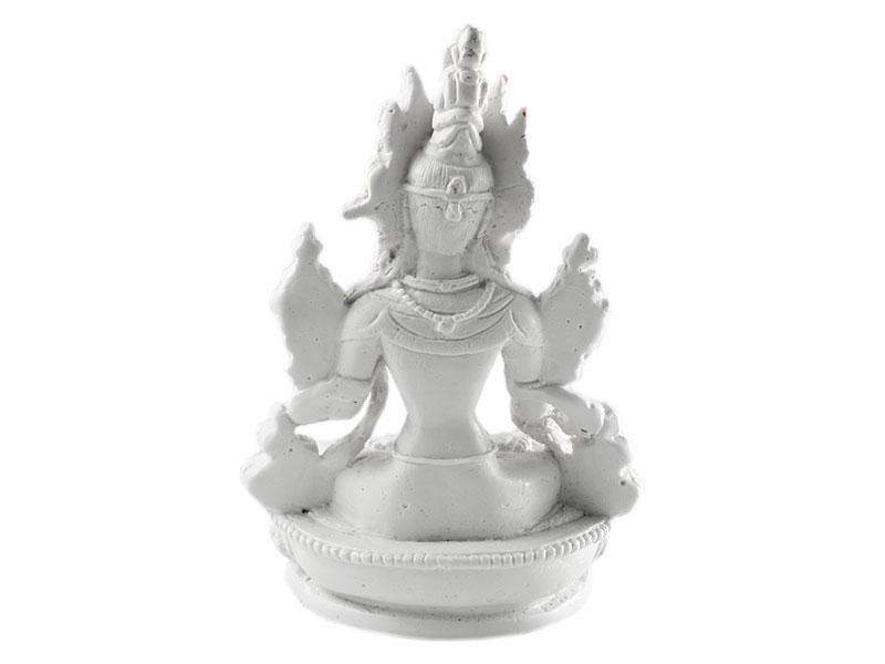 Weiße Tara Statue