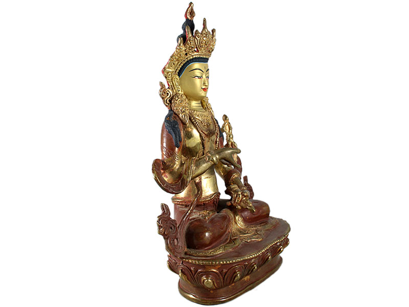 Vajrasattva Buddha - Feuervergoldet 23 cm