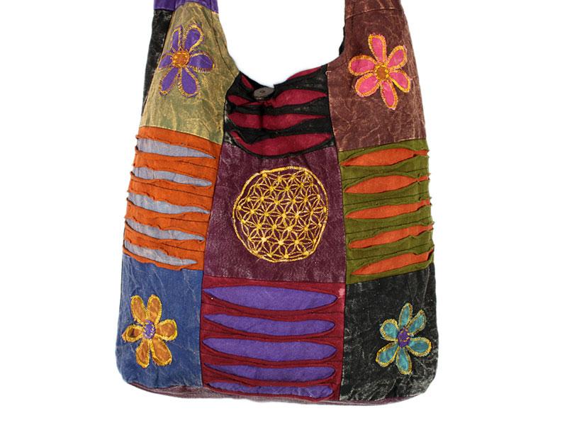 Patchwork Hippie Blume des Lebens