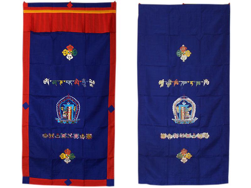 Tibetischer Türbehang - Kalachakra