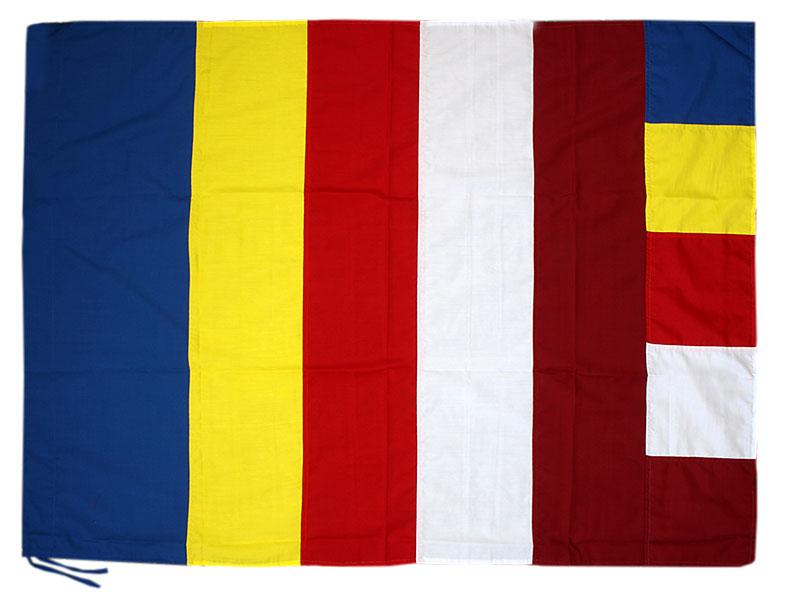 Tibetische buddhistische Fahne Flagge - 80 x 110 cm
