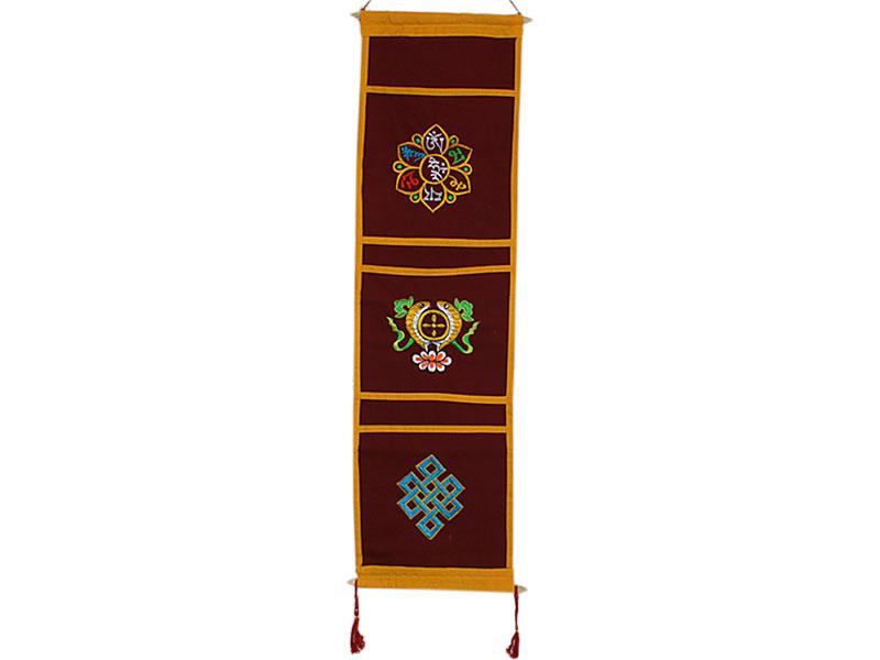Tibetischer Wandbehang - Briefhalter