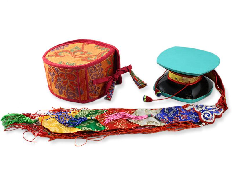 Damaru - Tibetische Handtrommel