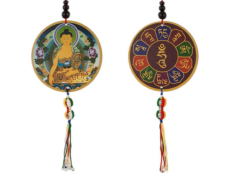 Auto oder Tür Schutz-Anhänger Shakyamuni Buddha