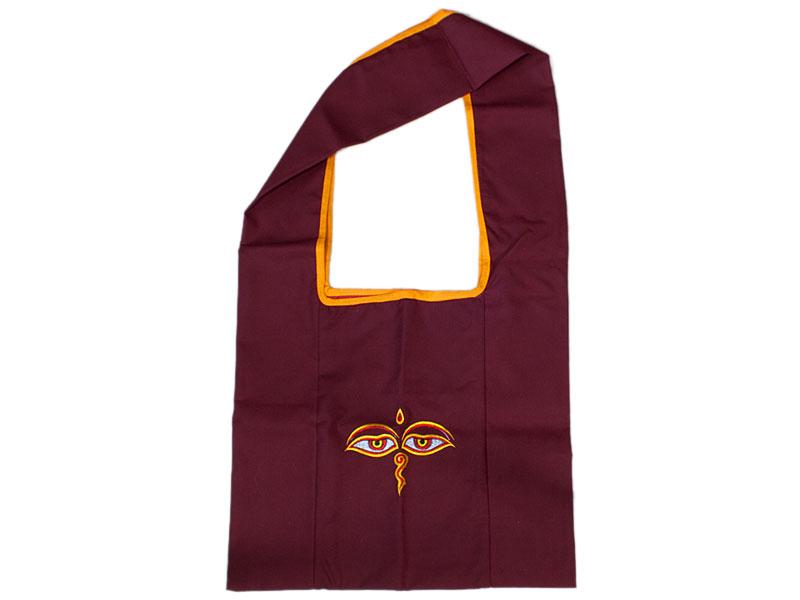 Mönchstasche Lama Bag mit Augen des Buddhas