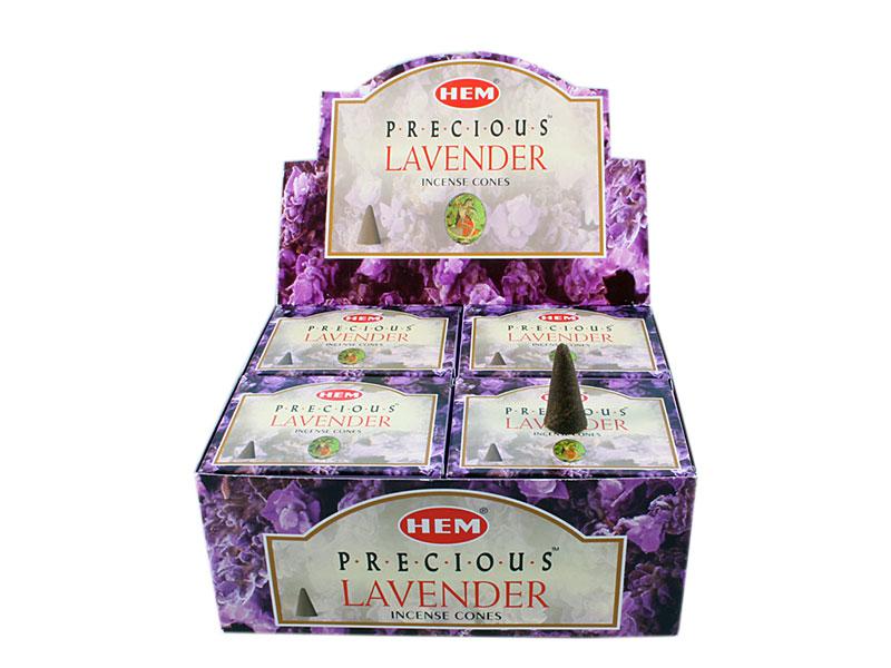 Hem Lavender Räucherkegel