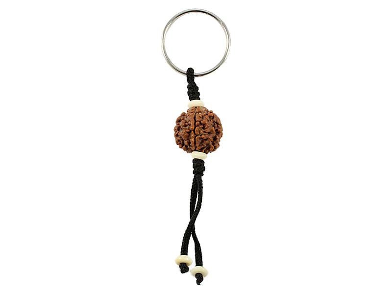 Schlüsselanhänger mit Rudraksha Samen