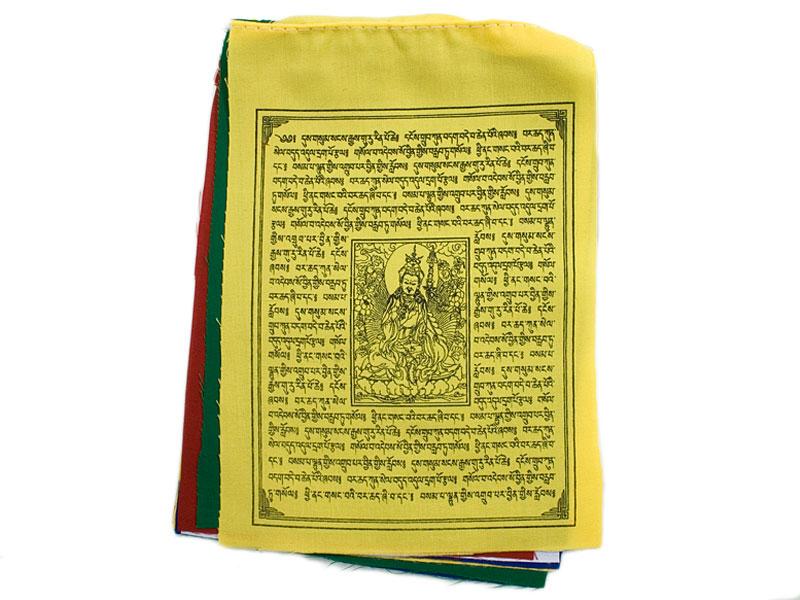 Tibetische Gebetsfahnen - Guru Rinpoche