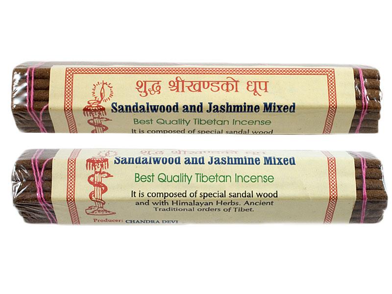 Räucherstäbchen - Sandalwood and Jashmine
