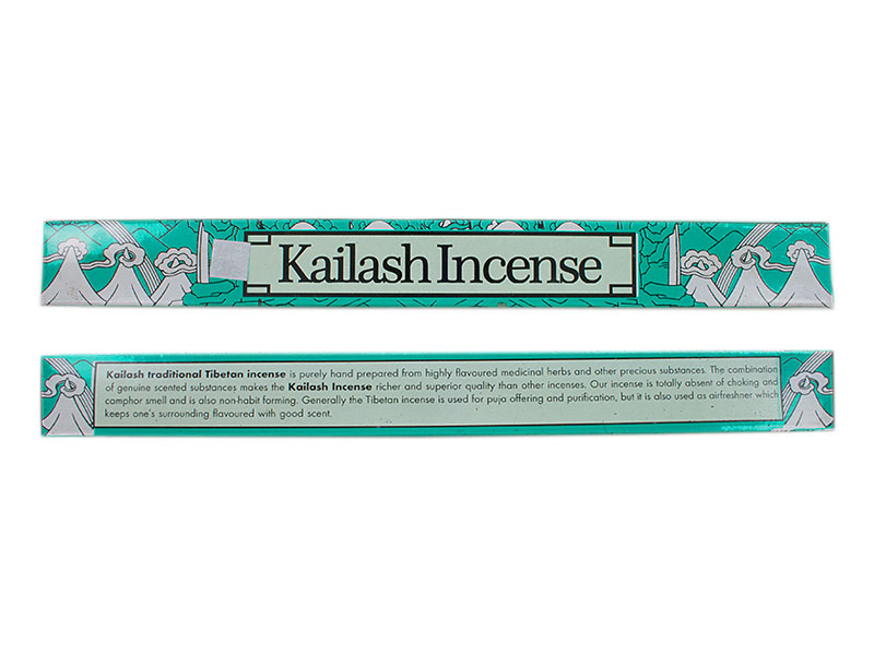 Räucherstäbchen Kailash Incense groß 26 cm lang