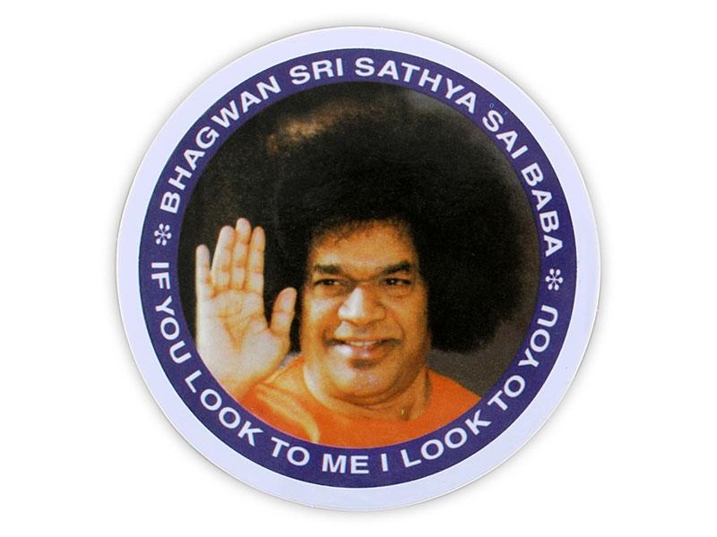 Aufkleber Sticker Bhagwan Sri Sayathya Sai Baba