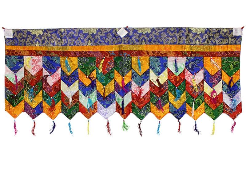 Tashi Tha-Ring Shambu - Tibetischer Decken- und Wandbehang