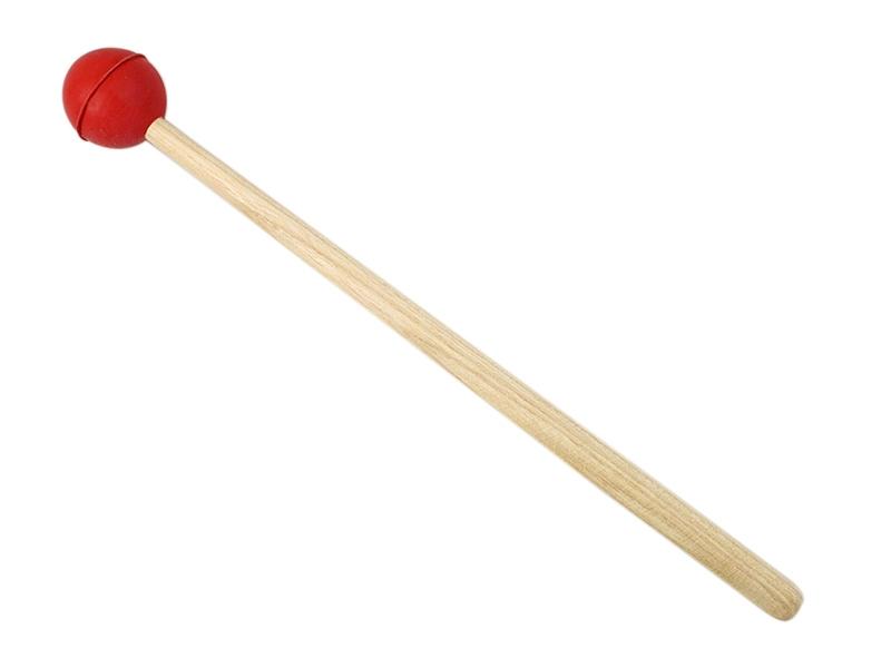 Gummischlägel für Klangschalen & Stimmgabeln rot