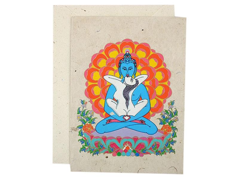 Grußkarten mit Umschlag Samantabhadra