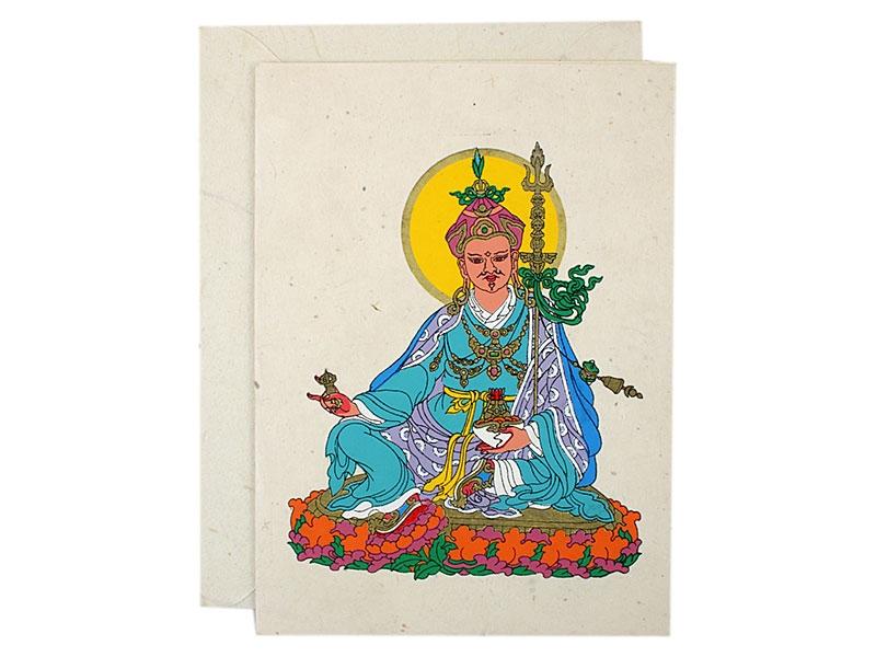 Grußkarten mit Umschlag Padmasambhava