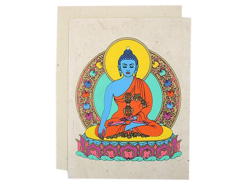 Grußkarten mit Umschlag Vajrasattva
