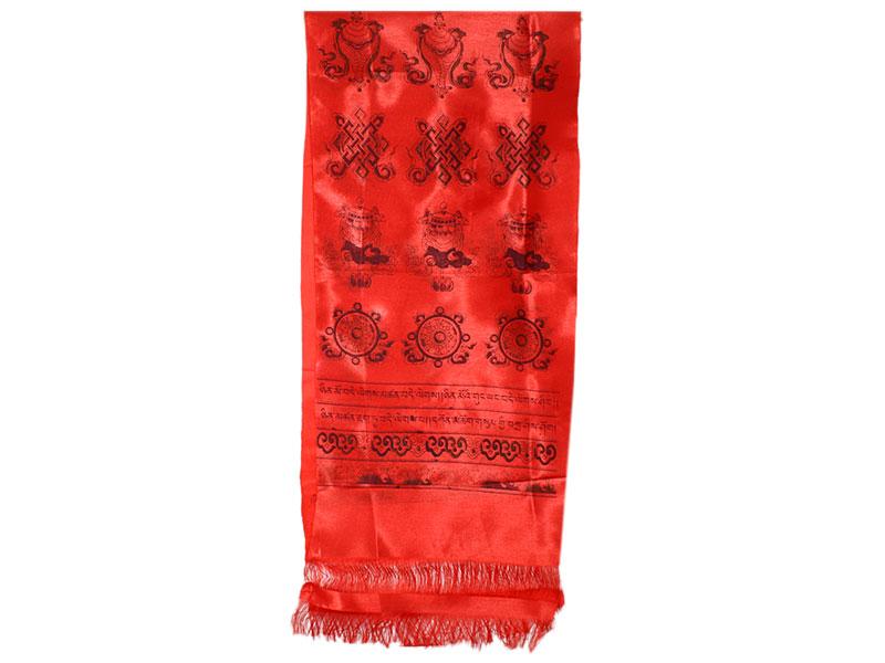 Khata Katak Glückssymbole rot