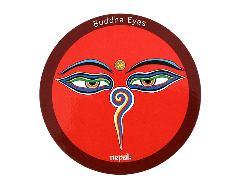 Kühlschrank Magnet Buddha Augen Nepal