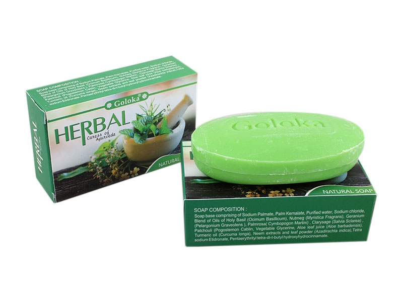 Goloka Herbal Natural Kräuter Seife