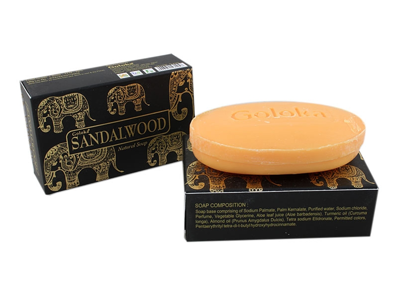 Goloka Seife Sandalwood Natural Soap