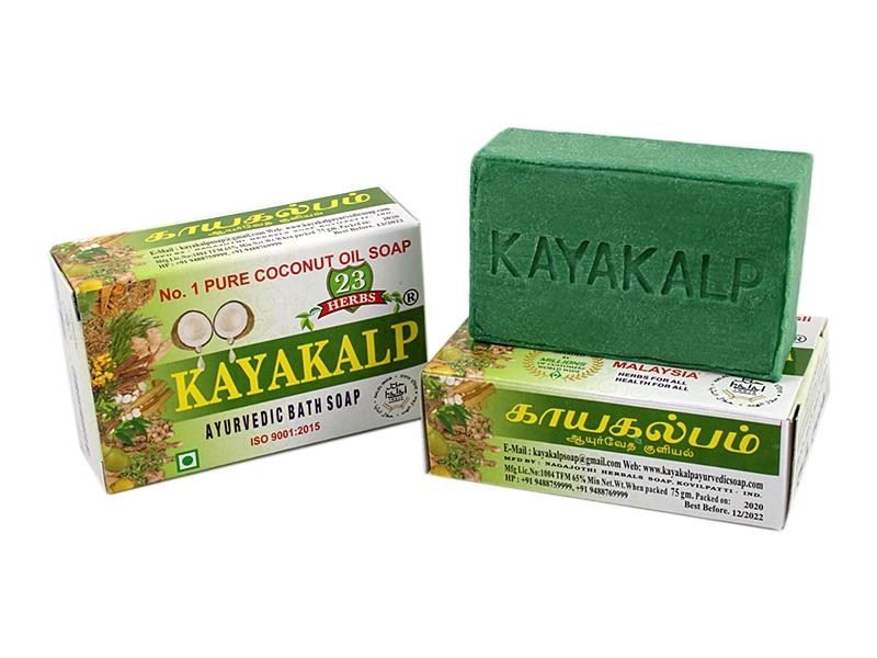 KAYAKALB ayurvedische Premium Kräuter Seife