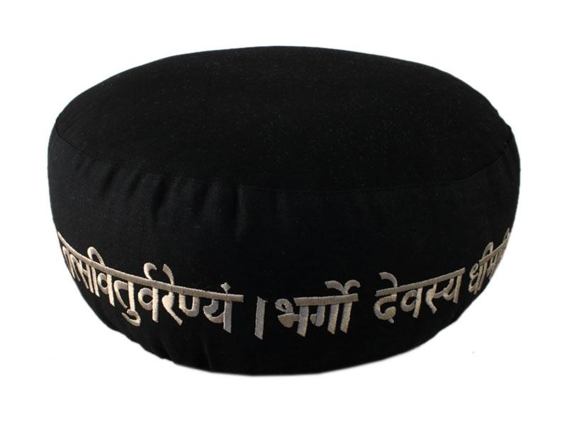 Meditationskissen Gayatri Mantra Baumwolle