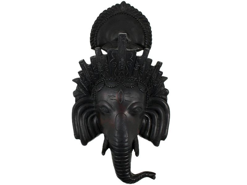 Ganesha Maske Kunstharz 28 x 16 cm