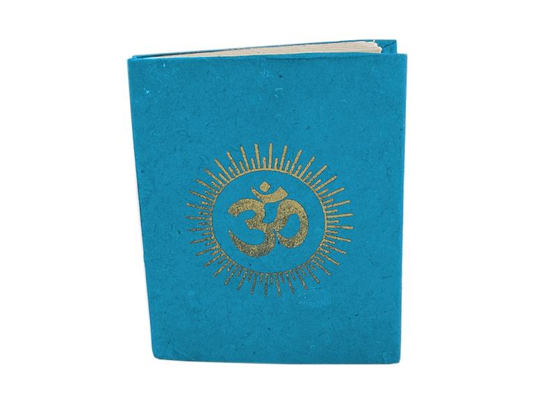 Notizbuch Om Symbol klein 10,5 x 8 cm
