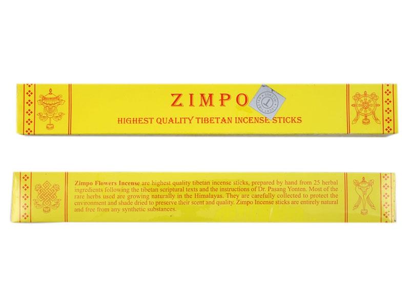 Tibetische Räucherstäbchen Zimpo Incense