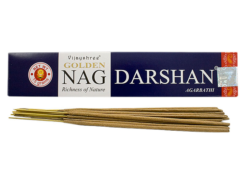 Räucherstäbchen - Golden Nag Darshan