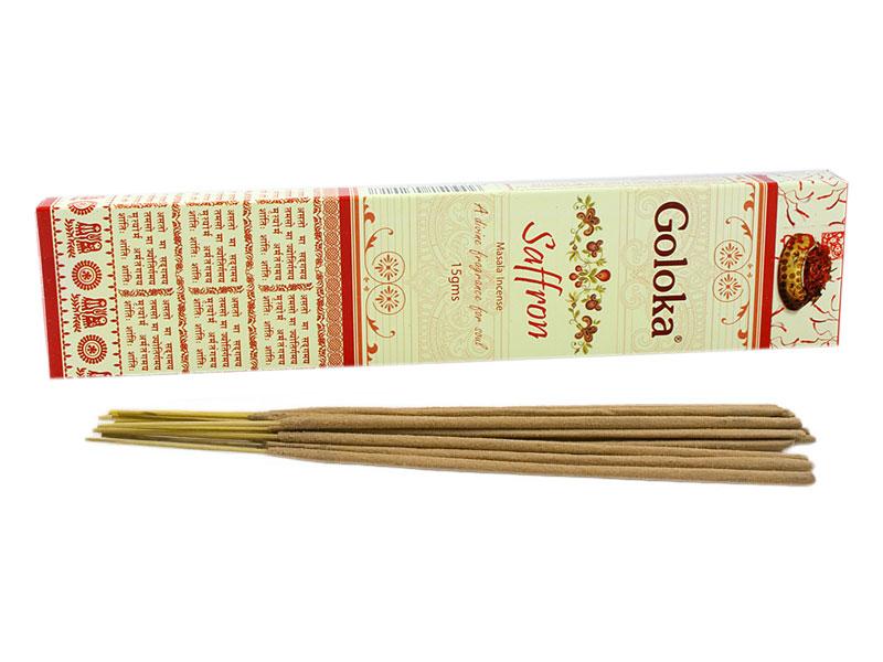 Räucherstäbchen - Goloka Saffron