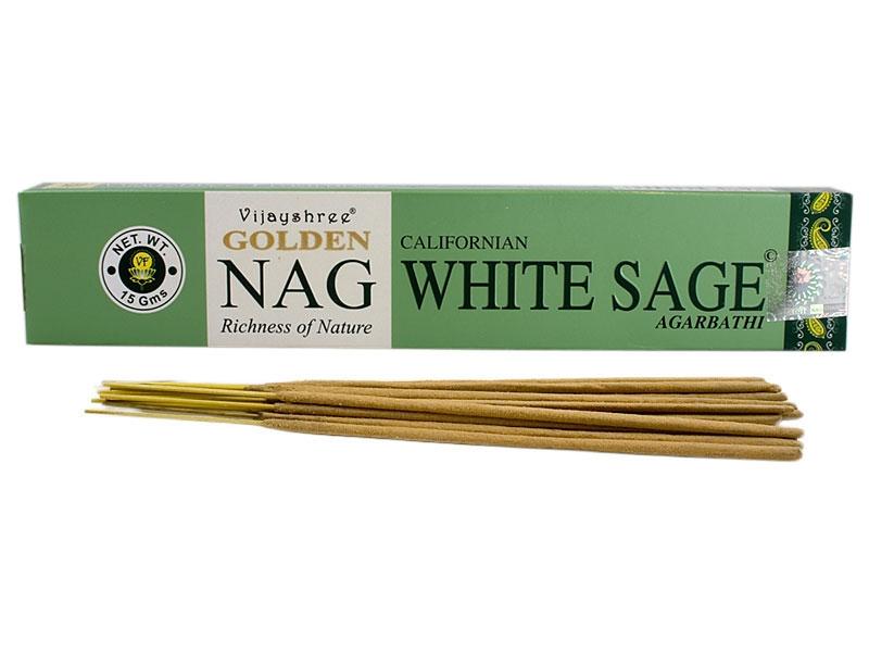 Räucherstäbchen - Golden Nag White Sage