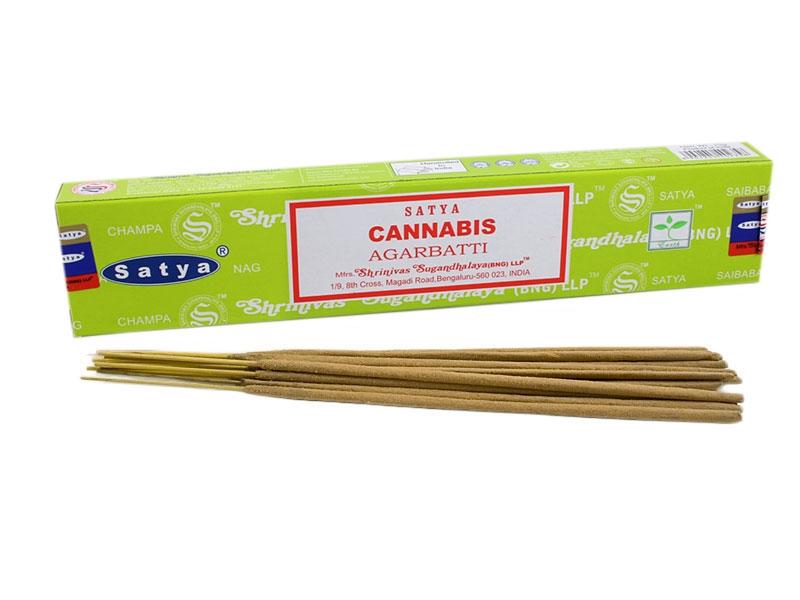 Nag Champa Cannabis Räucherstäbchen