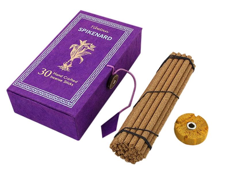 Tibetische Spikenard Räucherstäbchen mit Box